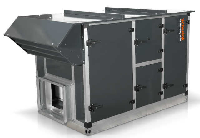 Product picture air handling unit aeroSchwank H-R from Schwank.