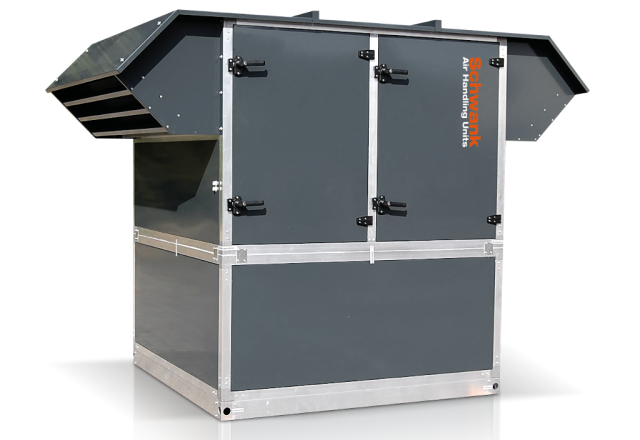Product picture air handling unit aeroSchwank H-RI from Schwank.