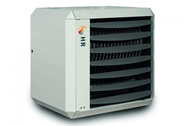Industrial warm air heating system