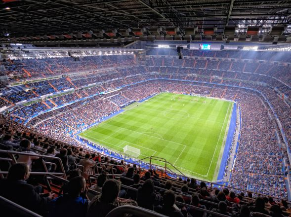 Heating systems for sports venues